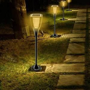 Led Gartenlampen Außenbereich : gartenlampe solarlampe led solarleuchte au enbereich garten villa ~ Frokenaadalensverden.com Haus und Dekorationen