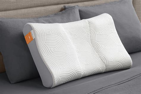 tempur contour side   pillow  gardner white