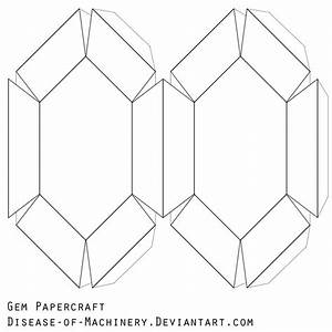 Gem Papercraft Blank By Disease