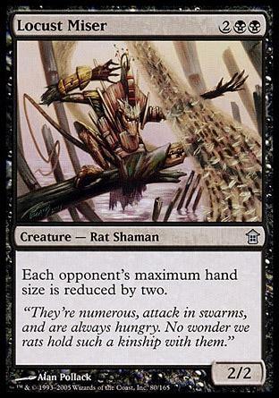 pack rat deck mtg locust miser saviors of kamigawa
