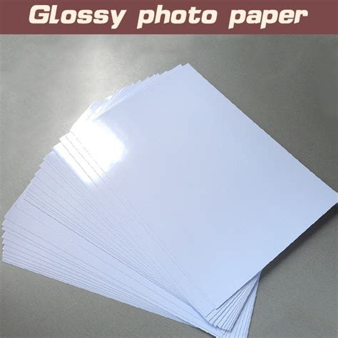 Pack Of 5 Glossy Photo A4 Paper For Pcb Toner Transfer