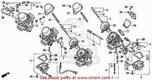 Honda Cbr900rr 1996  T  Usa California Carburetor