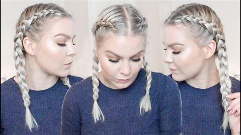 dutch braid   hair  beginners