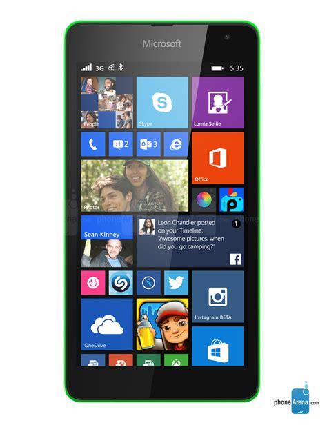 microsoft lumia microsoft lumia 535 specs