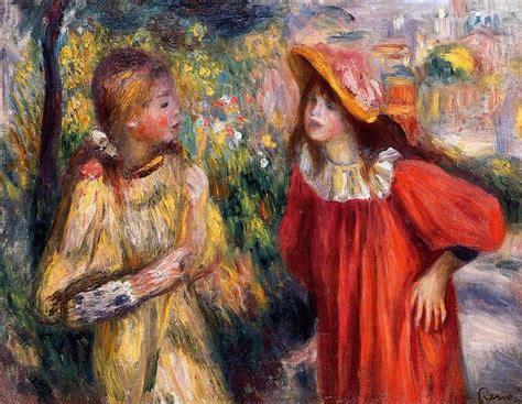 The Conversation 1895 Pierre Auguste Renoir