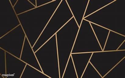 Gold Modern Vector Geometric Mosaic Background Aesthetic