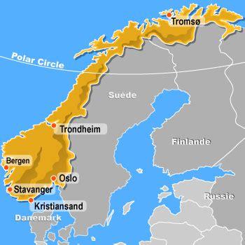 Carte Du Monde Avec Norvege by Offices De Tourisme De La Norvge Tourist Offices