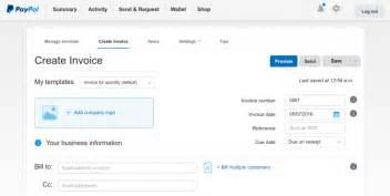 request money  send invoice  paypal