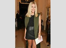 Mollie King puts on a VERY leggy display at official