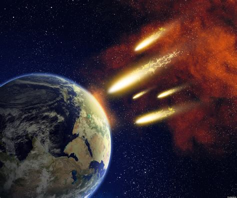 Fire Meteor and Asteroid (page 2) - Pics about space