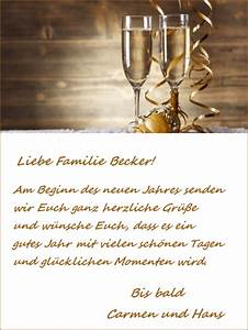 Weihnachtsgrüße Text An Chef : vorlage f r einen neujahrsgru ~ Haus.voiturepedia.club Haus und Dekorationen