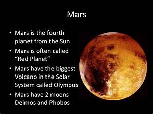Compare and Contrast Between Earth and