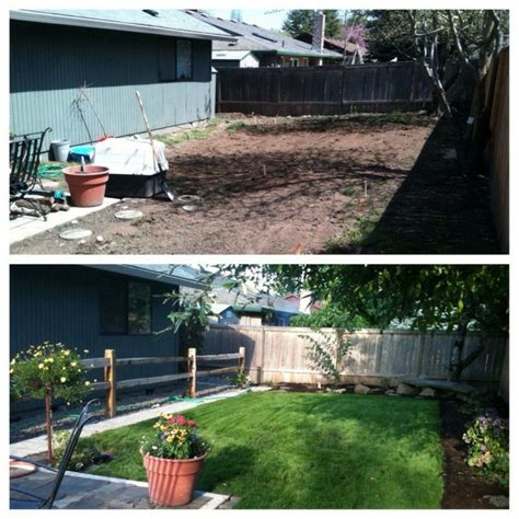 backyard before and after backyard renovations before and after outdoor furniture