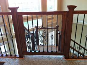 Custom Gate for Stairs
