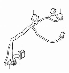 Volvo S80 Wiring Harness  Cable Harness Centre Console  Ch