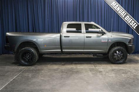 Used Dodge Ram 3500 Diesel For Sale by Used Lifted 2013 Dodge Ram 3500 Dually Rwd Diesel Truck