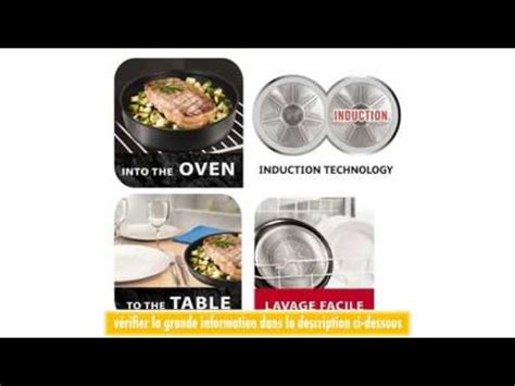 batterie de cuisine induction tefal tefal l3209402 ingenio induction batterie de cuisine set