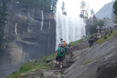 Backpacking Yosemite National Park California Usa