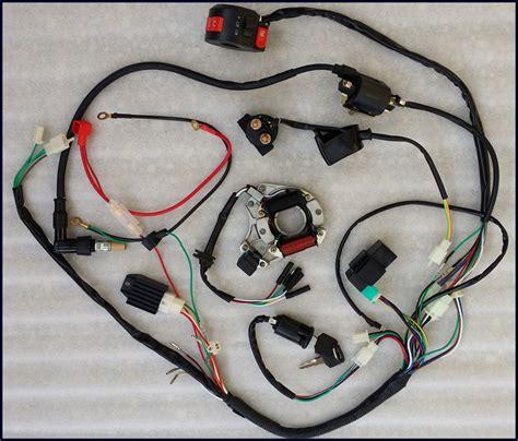 Full Electrics Wiring Harness Cdi Coil Atv