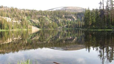 Scow Lake Uintas by Echo Lake High Uinta Mountains Utah