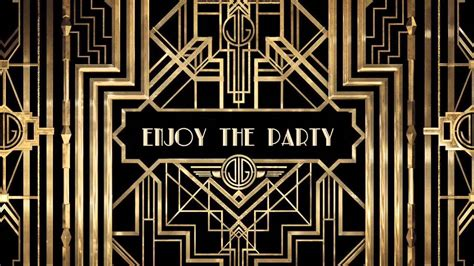 wedding entrance backdrop great gatsby themed party prom