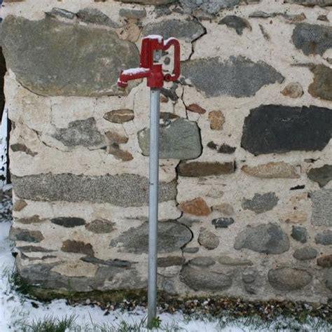 robinet d eau exterieur robinet ext 233 rieur antigel anyflow hauteur 1 74 m