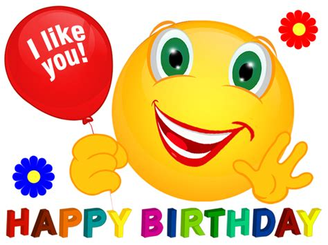 Related Galleries Emoticons Facebook Happy Birthday