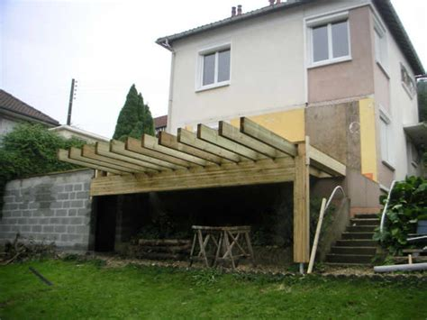 extension bois sur pilotis mzaol