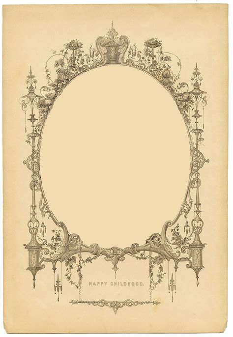 fancy frame texture graphicsfairyb