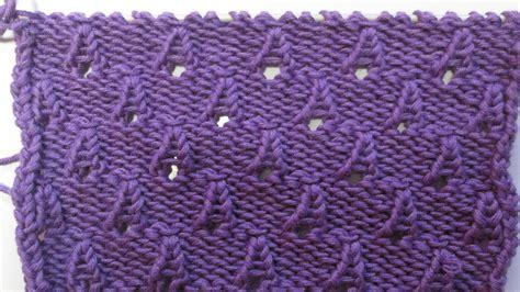 tuto tricot apprendre a tricoter de petits cones ou cornet de glaces point ajoures facile