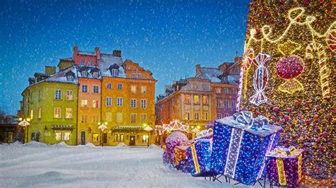 Warsaw Xmas Bing Wallpaper Download
