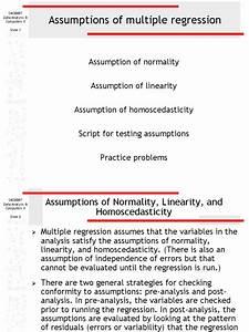 Assumptions Summer2003