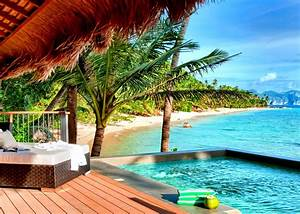 Beach Villa Resorts Wallpaper Hd Latest Wallpapers