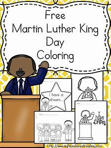 Martin Luther King Day Coloring for Preschool/Kindergarten ...