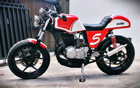Motor Suzuki by Racing Caf 232 Suzuki Gt 185 1978 By Studio Motor