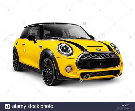 Yellow 2014 Mini Cooper S, Mini Hatch, Hatchback Compact