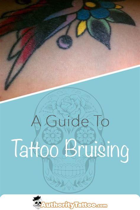 uncommon    tattoos  bruise slightly