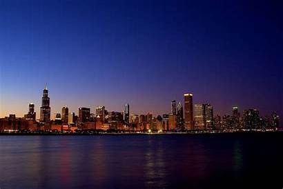 Chicago Skyline Wallpapers Backgrounds Background Illinois Architecture