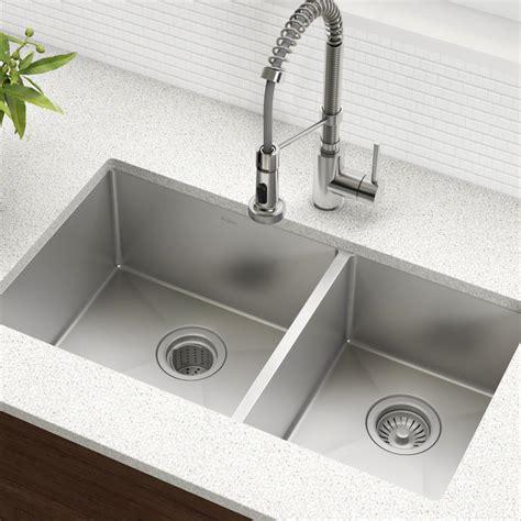 Kitchen Sinks by Kraus Khu103 33 Standart Pro Stainless Steel Kitchen Sinks