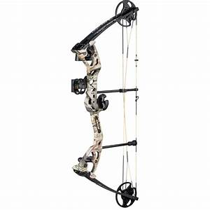 2020 Fred Bear Archery Compound Bow Limitless Rth  1 972