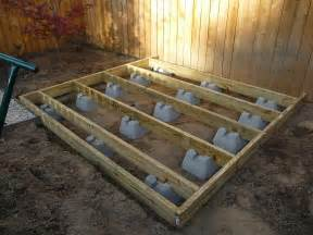 pin floating deck footings image search results on