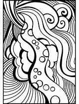 Coloring Abstract Teenagers Adult Teenage Printable Adults Ausmalbilder Erwachsene Abstrakte Categories Coloringonly Recommended sketch template