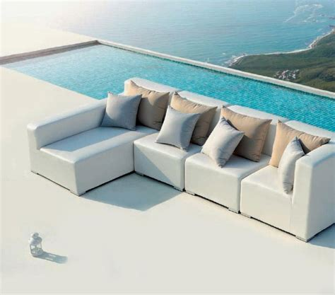 small outdoor sectional sofa white outdoor small sectional sofa vg420 outdoor
