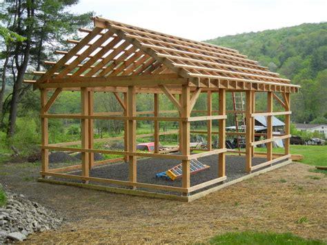 how to build a pole barn pole barn jeff joseph woodworker