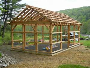 Pole barn jeff joseph woodworker for 16x20 pole barn