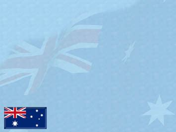 powerpoint templates  themes australia flag
