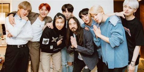 Steve Aoki Says New Original Music Is In The Works With Bts For 2018