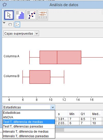 estad 237 stica matem 225 tica y computaci 243 n prueba de hip 211 tesis para diferencia de medias con geogebra