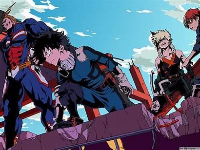 Academia Hero Wallpapers Aesthetic Bnha Season 4k
