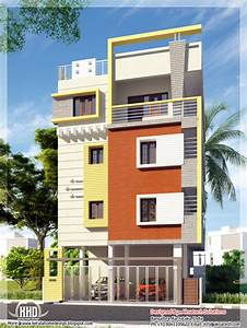 Mix Collection Of 3d Home Elevations And Interiors - Kerala Home Design